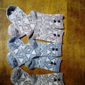 Simply Noelle Socks Set of 3